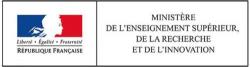 Logo du partenaire Logo partenaire ministère de l'enseignement supérieur de la recherche et de l'inovation